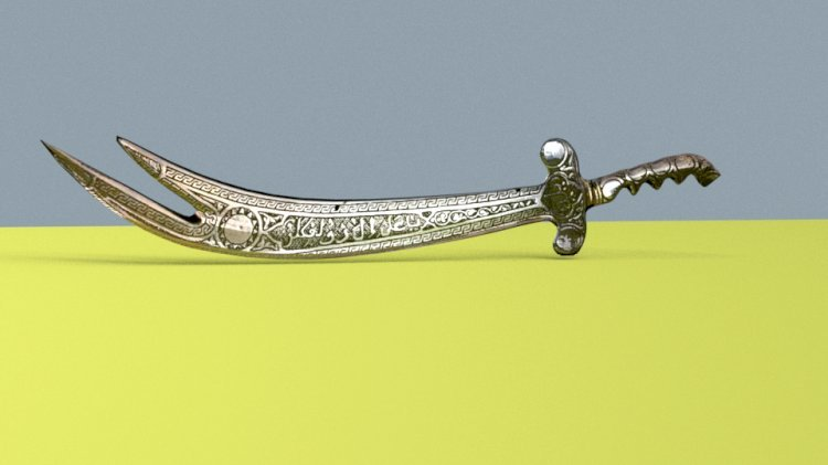 3D Kılıç Çizimi Hızlandırılmış - 3D Zülfikar
